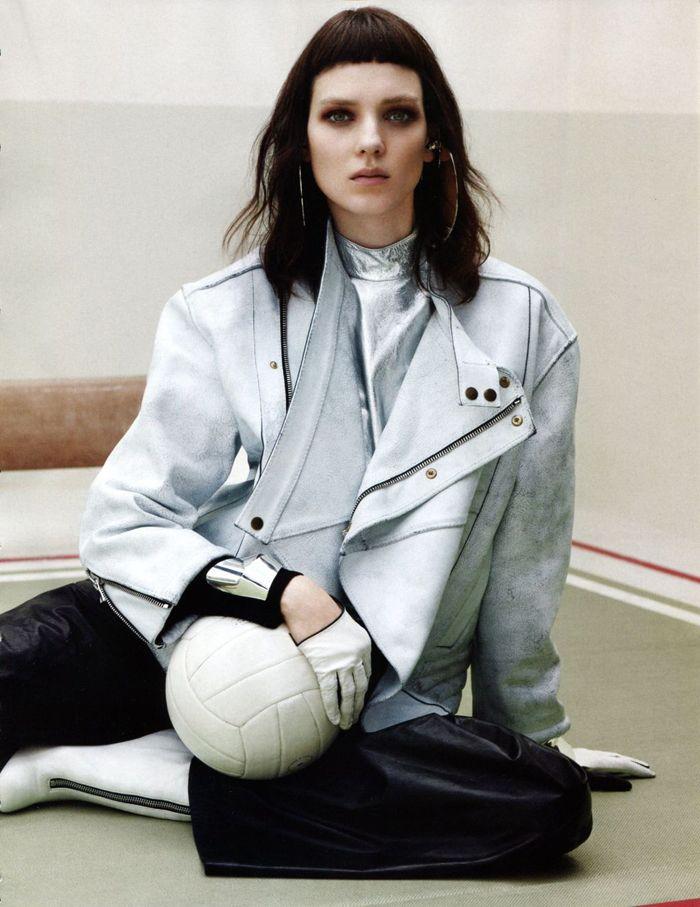 Nike sports highfashion styling fashion editorial