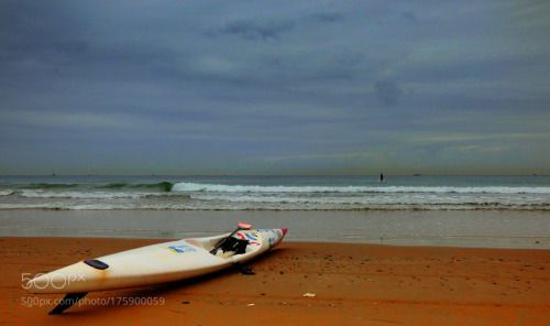 Calm Durban by KaanUurlu  beach travel calm cloud travelling durban Africa South Africa Golden Mile Kaan Ugurlu Güney Afrika H