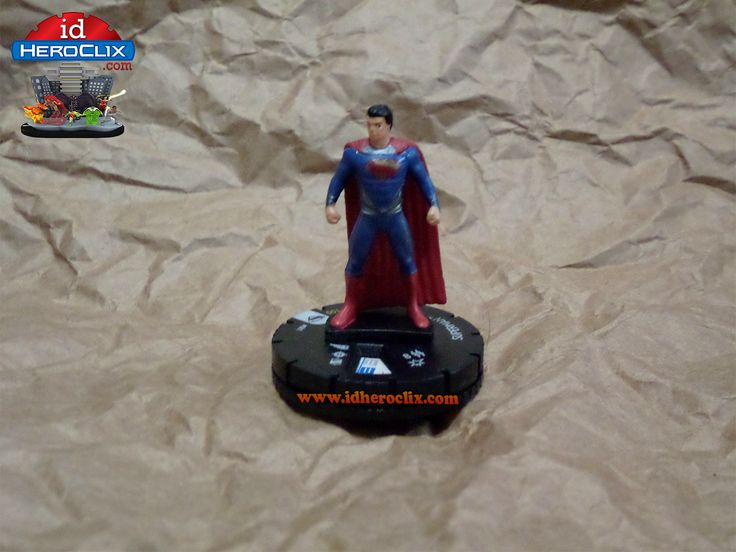 Superman #001 Man of Steel DC Heroclix