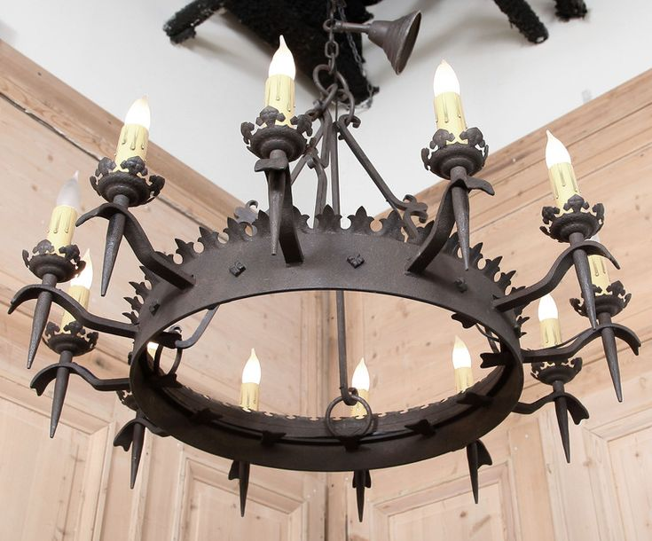 Black Wrought Iron Chandelier Rustic Style - 46 Best Wrought Iron Chandeliers Images On Pinterest Irons