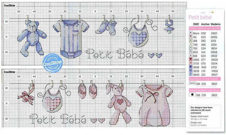 boy & girl baby clothes line