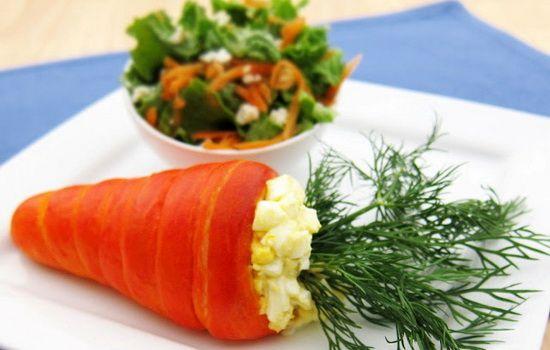 Рецепты салата из моркови и яиц, секреты выбора ингредиентов и