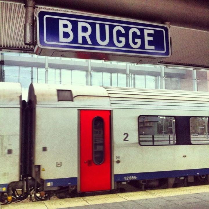 Station Brugge en Brugge, West-Vlaanderen