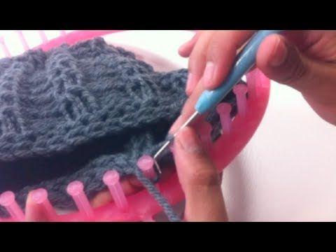 Cómo tejer con telar circular: CERRAR PUNTOS - YouTube