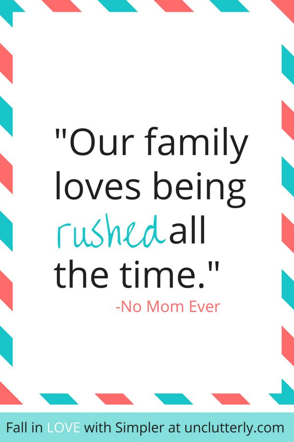 Want more family time together? Try these simple solutions...