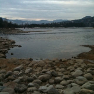 Castlegar, BC. This is right below my house, where i grew up...Home.