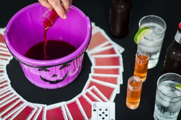Halloween isn't just about candy and costumes. For adults, the spooky holiday is a great opportunity to let loose and get a little crazy. If you're all dressed up and ready to celebrate, you don't want the party to be a dud. Try out some drinking games to spice up the celebration.
