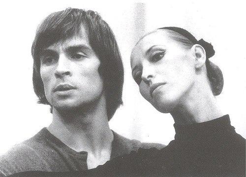 Rudolf Nureyev and Natalia Makarova