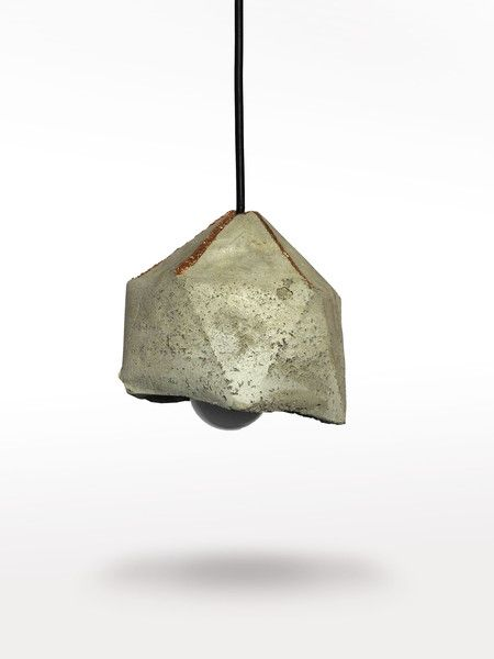 Ceiling Lights – Geometric concrete lamp – a unique product by LumiLamp on DaWanda
