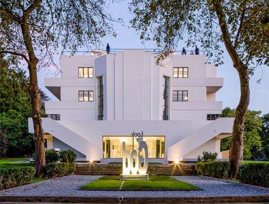 1920s Marcel Leborgne-designed La Villa Dirickz in Sint-Genesius-Rode, Belgium.