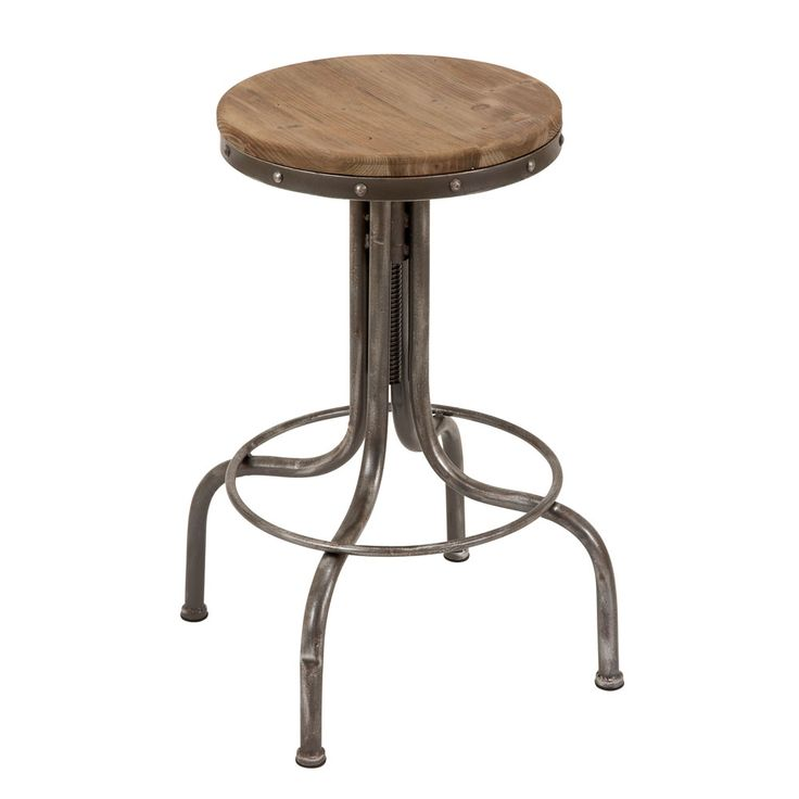 Bar stool love!: Kitchens, Barstools, Wood Seats, S'More Bar, S'Mores Bar, Metals, Wood Bar, Bar Stools, Barstoolconstruct Materials