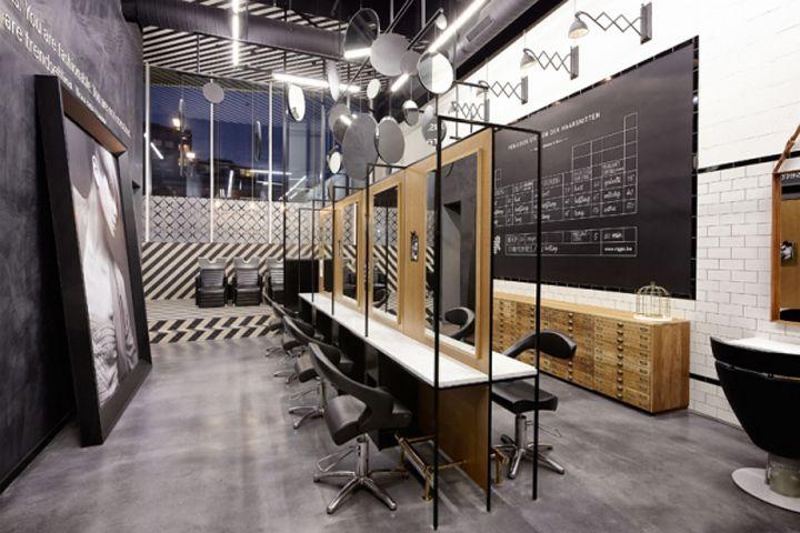 R hair salon by Creneau International, Genk – Belgium