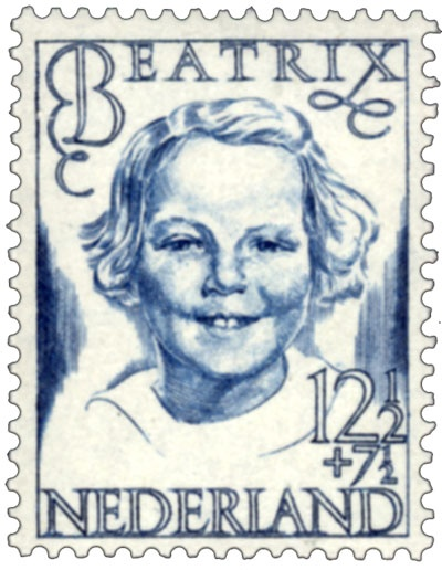 En deze postzegel van lang lang geleden