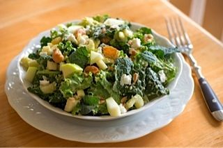 Kale Waldorf Salad @The Fountain Avenue Kitchen on @The Foodie Physician: Creamy Dresses, Kale Waldorf, Foodies Physicians, Waldorf Salad, Void Kitchens, Kale Salad, Blend Sweet, Fountain Avenu, Vegetarian Maine Dishes