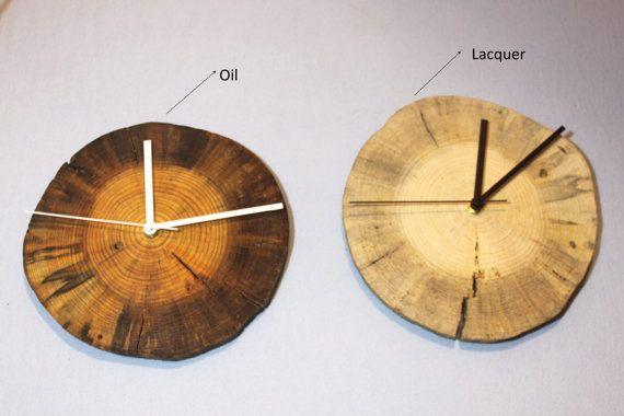 Dried pine Natural Wall Clock Home Unique wall clock by WILDSTUMP