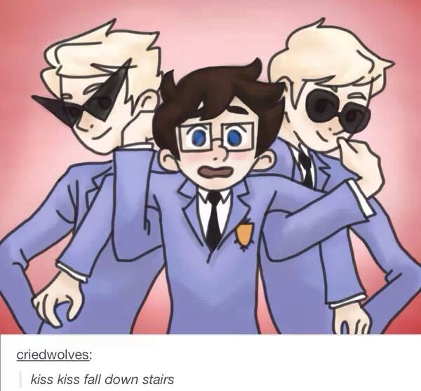 ouran high school host club and homestuck... my life is complete