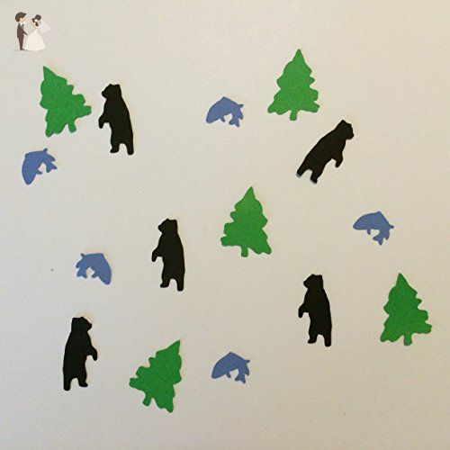 1in Confetti Set, Bear Cut Outs, Fish Cut Outs, Tree Cut Outs, Woodland Theme, Rustic Theme, Camping Decorations, Woodland Baby Shower, Table Scatter, Rustic Wedding, Party Supplies, Confetti - Wedding favors (*Amazon Partner-Link)