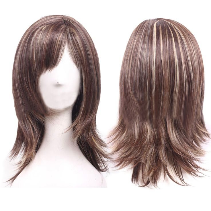 Women's Night Club Straight Hair Cosplay Party Full Wigs HB88