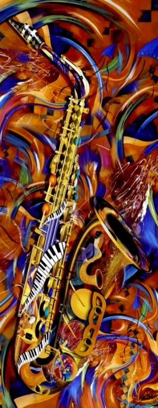 A-Little-Sax-Abstract-Colorful-Jazz-Saxophone