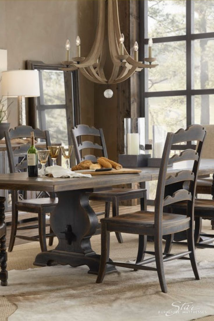 Hill Country 5 Piece Rectangle Dining Room Set Rectangle Dining Room Set Dining Dining Room Sets