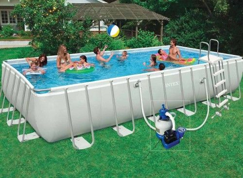 Les 25 meilleures id es de la cat gorie intex piscine for Intex piscine le miroir