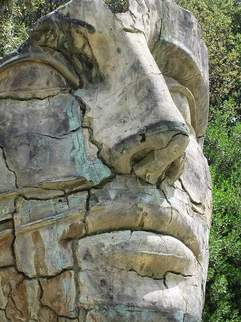 Giant Head in the Boboli Gardens | GARDENS | Pinterest ...