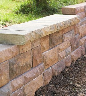 Build Landscape and Retaining Walls and Keep Them in Tip-Top Shape