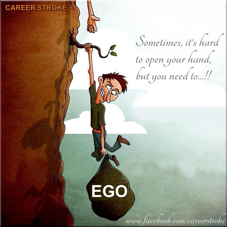 Sometimes, it's hard to open your hand, but you need to..! #LetGo #EGO — @careerstroke