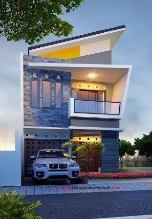 Rumah Minimalis 2 lantai elegan di tulungagung