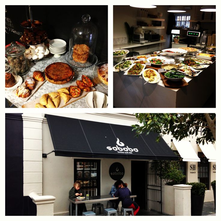 This is an awesome place to grab a buffet style lunch! Sababa, located in Bree Street!