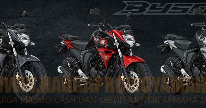 Dealer Yamaha Jakarta - Harga Kredit Motor Yamaha Byson FI New Injection Terbaru untuk wilayah Jakarta, Tangerang, Depok, Bekasi dan Bogor. DP dan Cicilan Murah !!
