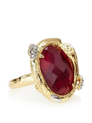 Indulgems Dyed Ruby Branch Setting Ring
