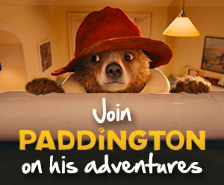 Poster from the Paddington film