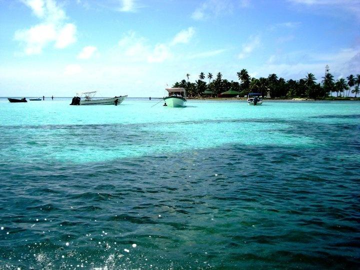 llegando al acuario en san andres islas colombia