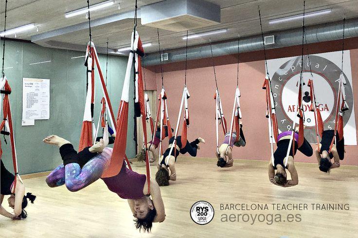 Formación Yoga Aéreo Barcelona, #Barcelona #Catalunya #cataluña #Tarragona #lleida #girona #donosti #bilbao #vizcaia #mallorca #ibiza #balears #valencia #alicante #castello #murcia #almeria #madrid #sevilla #yoga #ioga #aeri #aerialyoga #yogaaereo #trapezi #acrobatic #acro #gravity #gravedad #wellness #bienestar #exercici #ejercicio #exercice  #spain #españa #sevilla