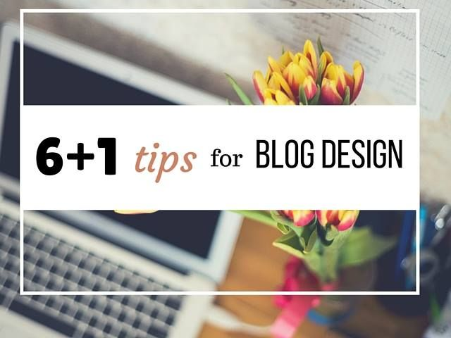 Guest Post : 61 Tips for Blog Design by Despinas Studio