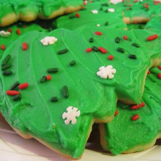 Kittencal's Buttery Cut-Out Sugar Cookies with Icing that Hardens