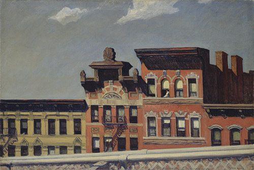 Edward Hopper: From Williamsburg Bridge (37.44) | Heilbrunn ...