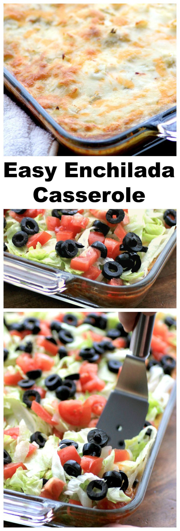 This easy chicken enchilada casserole is a make-ahead recipe that the whole family will love!   Noshing with the Nolands