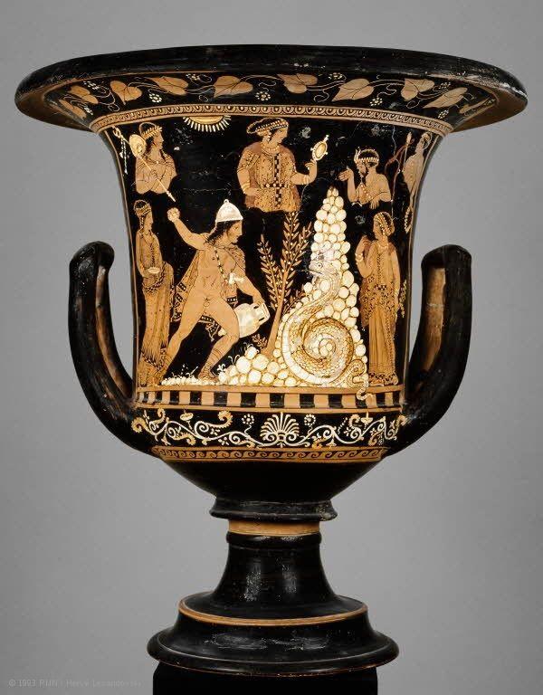Parcours : La céramique grecque – Chefs-d'œuvre   Musée du Louvre   Paris