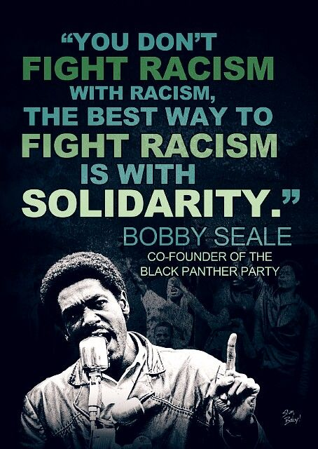 """Robert George """"Bobby"""" Seale[1] (born October 22, 1936) is an American political activist. He is known for co-founding the Black Panther Party with Huey Newton."""