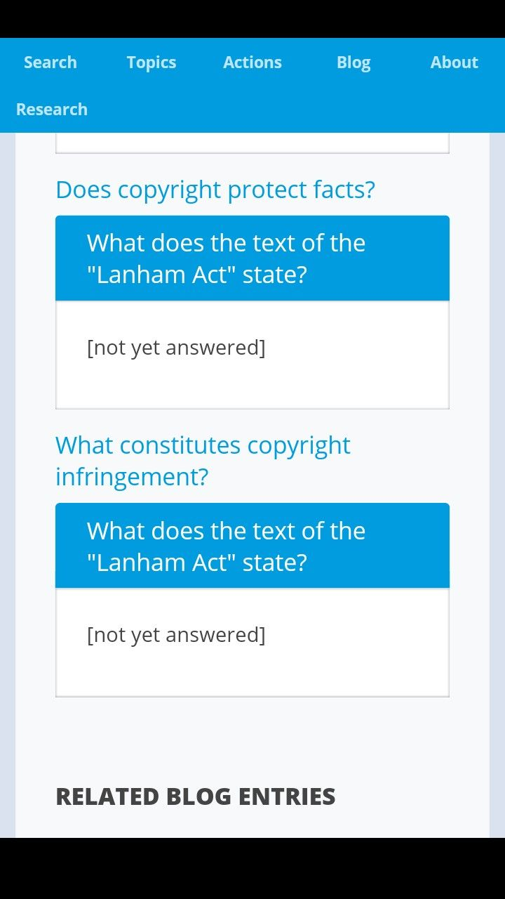 Anyone Know What Lanham Act Is Acting Blog Entry Facts