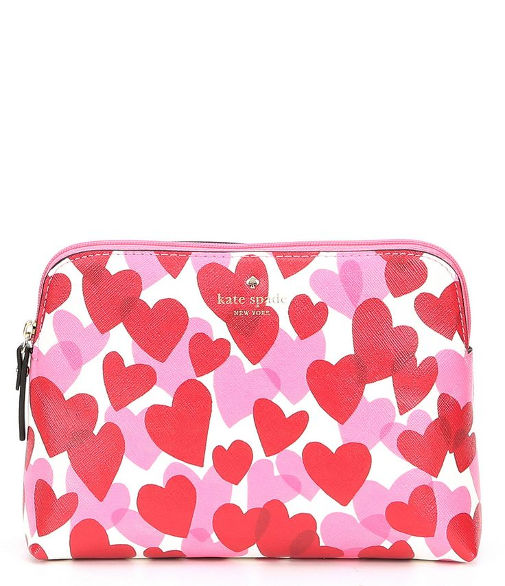 kate spade new york Yours Truly Valentines Day Briley Cosmetic Bag #Dillards