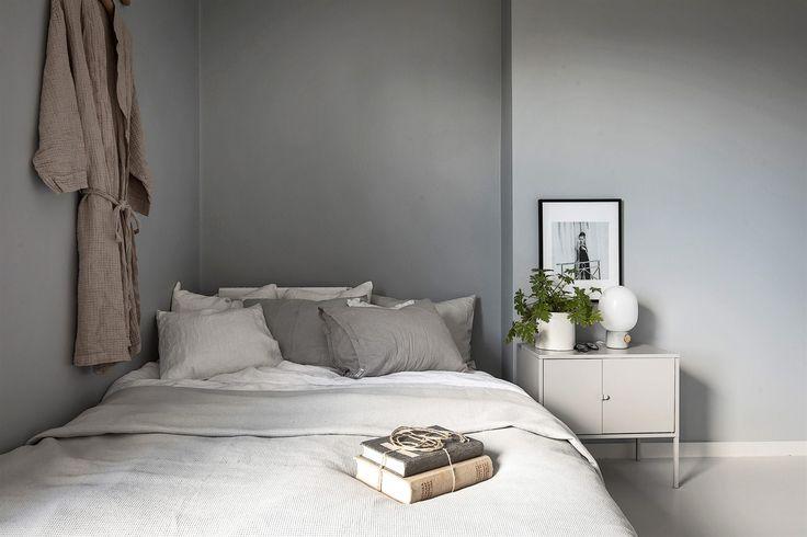 Ikea 'Lixhult' cabinet as nightstand