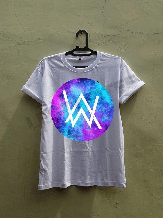 alan walker basic logo galaxy circle electronic dj music i'm faded fade tour #Unbranded #BasicTee