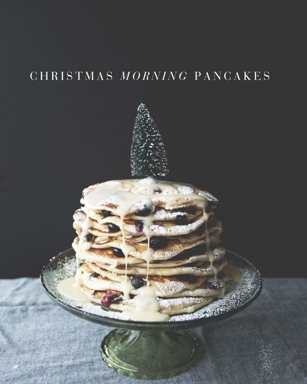 Recipe Box: Christmas Morning Pancakes: