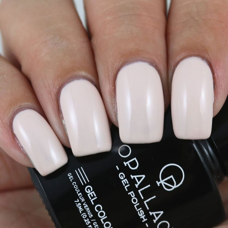 Opallac Gel Polish Say I Do swatched by Olivia Jade Nails