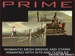 PrimBay - Romantic bridge and stairs by PRIME