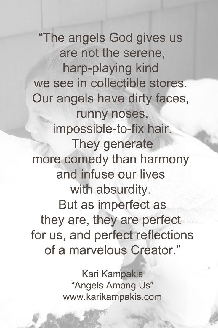 """""""Angels Among Us"""" - by Kari Kampakis"""