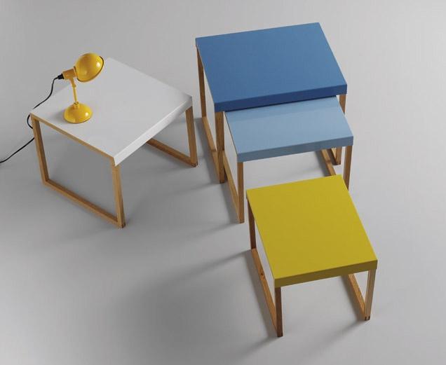 kilo statement making nested tables habitat brights. Black Bedroom Furniture Sets. Home Design Ideas